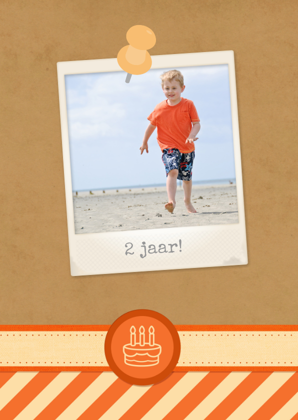 12 maanden Karton Oranje 2