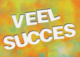 Succes kaarten - 14217 Veel succes