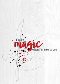 Valentijnskaarten - 15268 I call it magic
