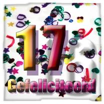 Verjaardagskaarten - 17 jaar feli