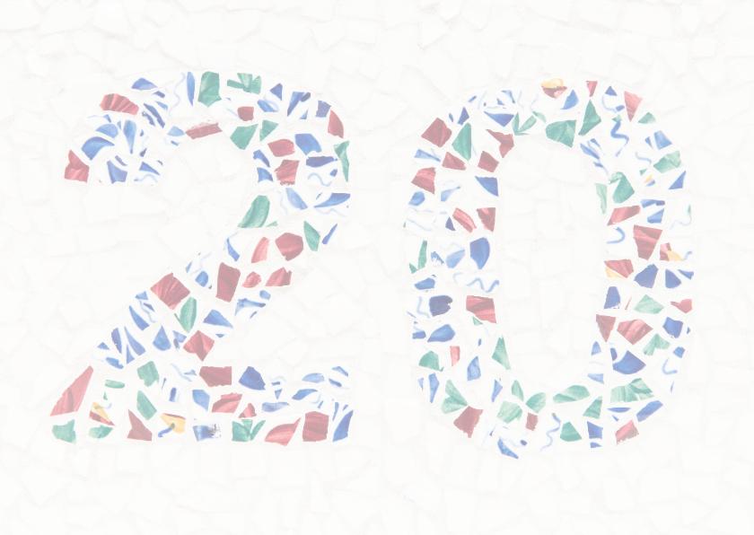20 jaar getrouwd - Porselein 2