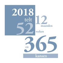 Nieuwjaarskaarten - 2018 telt 365 kansen