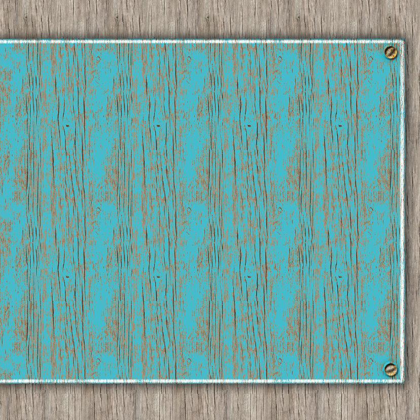 25 Jaar old wood - blauw 3