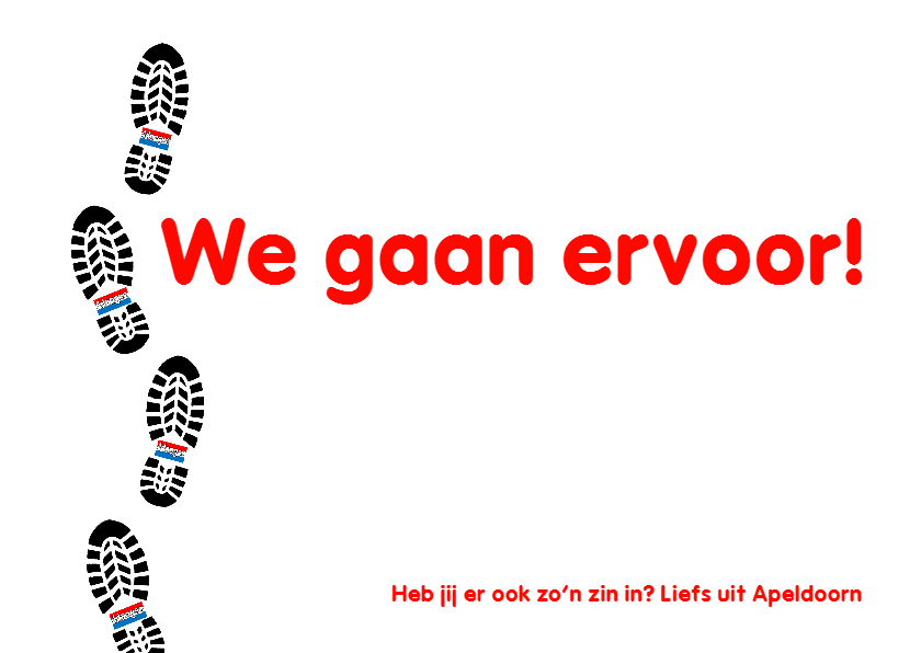 4-daagse Zin in Vlag -  AW 3