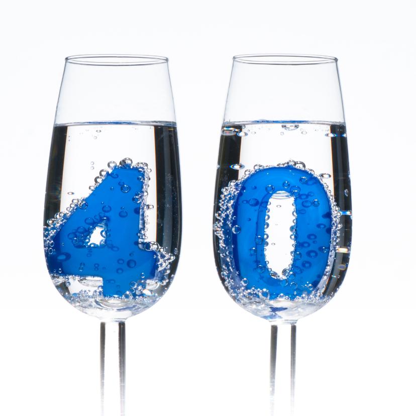 40 in champagne glazen 2