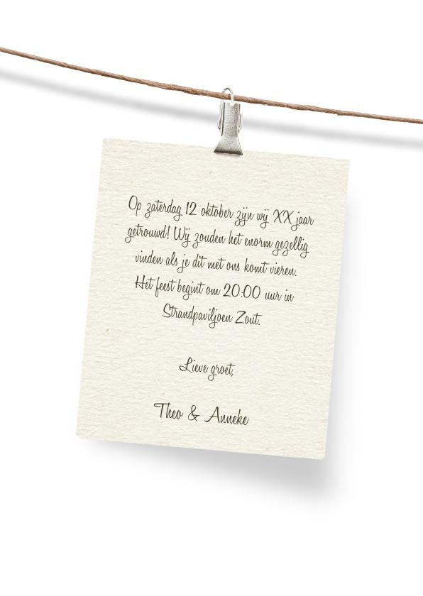 40 jaar getrouwd jubileum uitnodiging 3