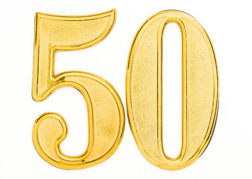50 jaar gouden bruiloft 50 jaar getrouwd  gouden bruiloft | Kaartje2go 50 jaar gouden bruiloft