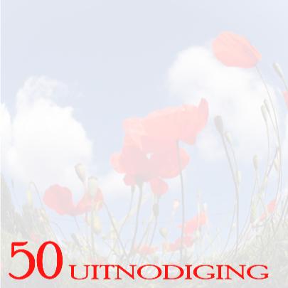 50 Uitnodiging klaproos 3