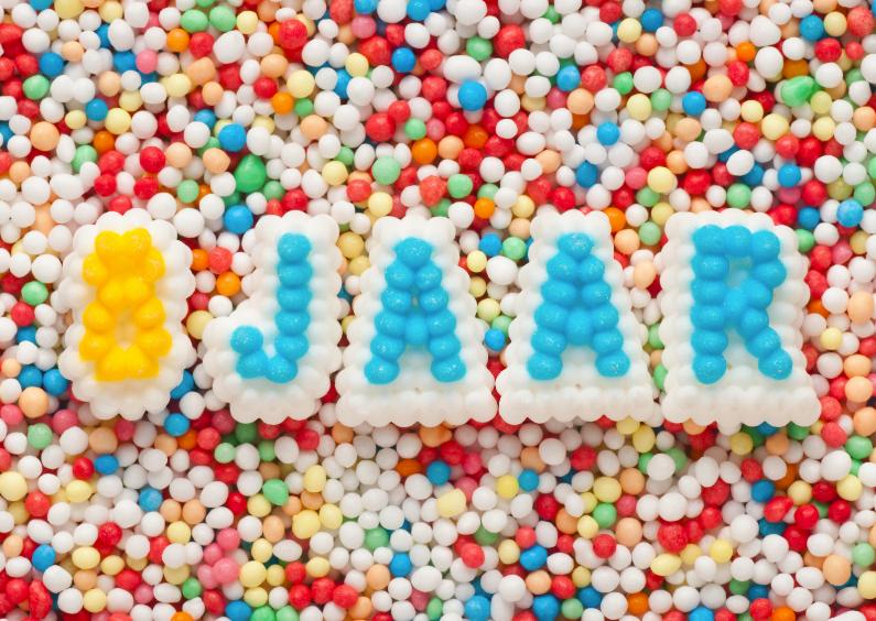 8 jaar kind 8 JAAR van suikerletters   Verjaardagskaarten | Kaartje2go 8 jaar kind