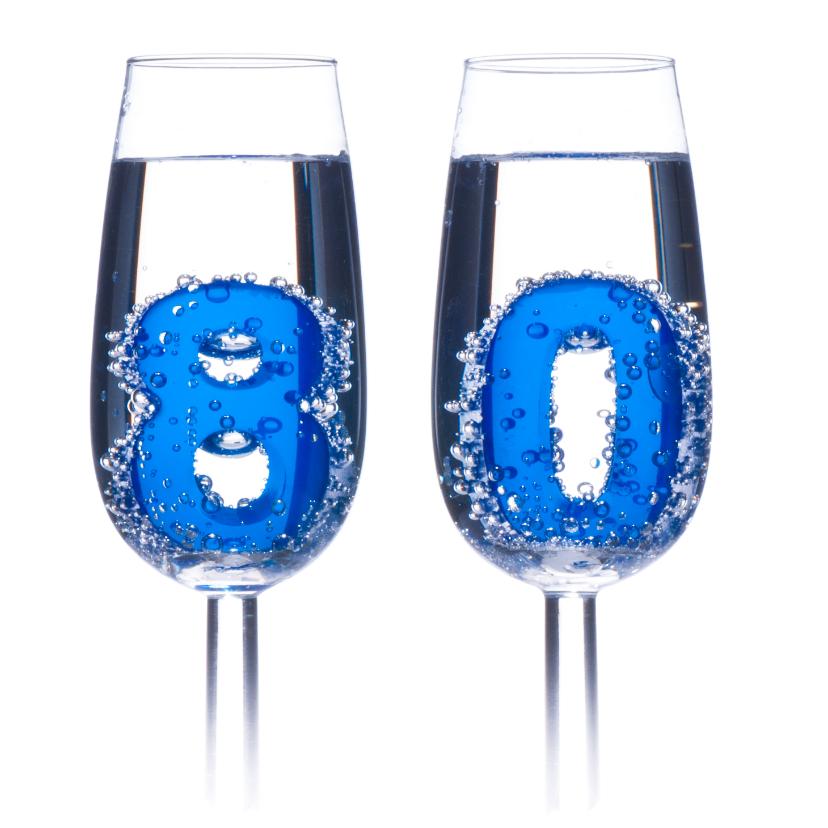 80 in champagne glazen 2