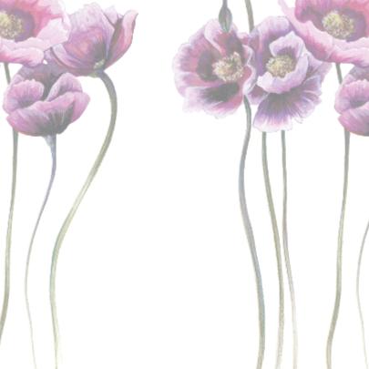 Aanmoediging Met Paarse Bloemen 2