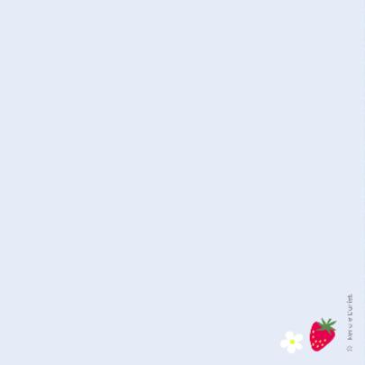 Aardbeien op een blauw ruitje 2