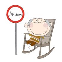 Verjaardagskaarten - Abraham 3