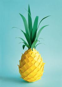 Zomaar kaarten - Ananas
