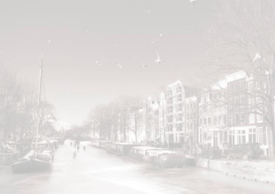 Ansichtkaart - Amsterdam  Winter 2