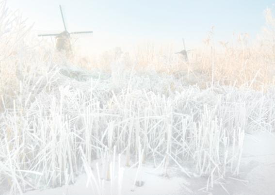 Ansichtkaart-Winterlandschap 2