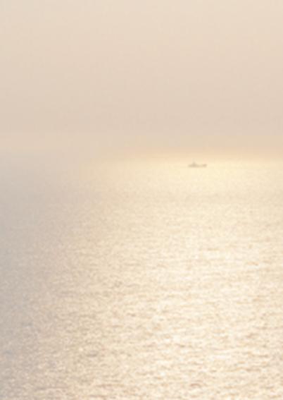 Avondzon boven zee 2