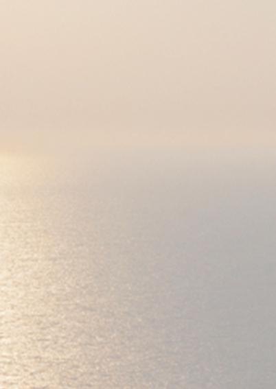 Avondzon boven zee 3