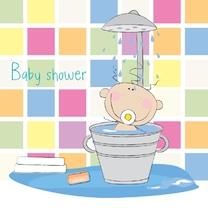Uitnodigingen - Baby shower 1