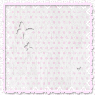 Babyhart roze met vlinders 3
