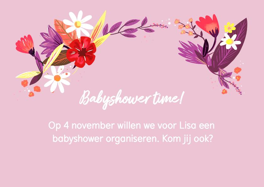 Babyshower bloemen 2