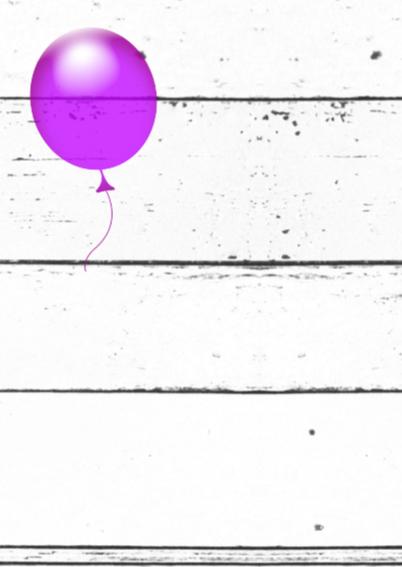 Ballonnen plaats zelf tekst b 2