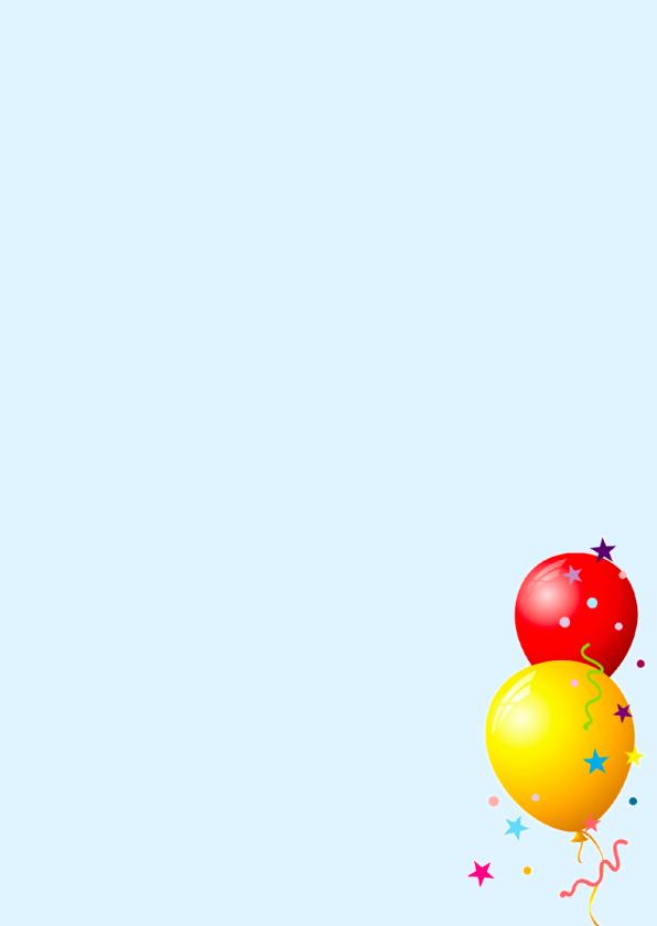 Ballonnenkaart Confetti Foto 3
