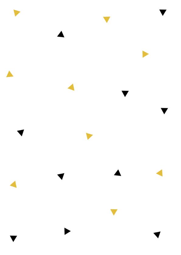 Bedankkaart driehoekjes hart 2