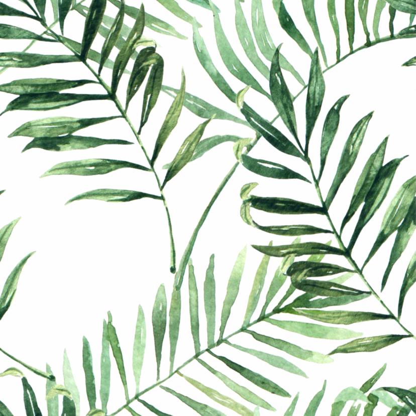 Bedankkaart Tropical - WW 2