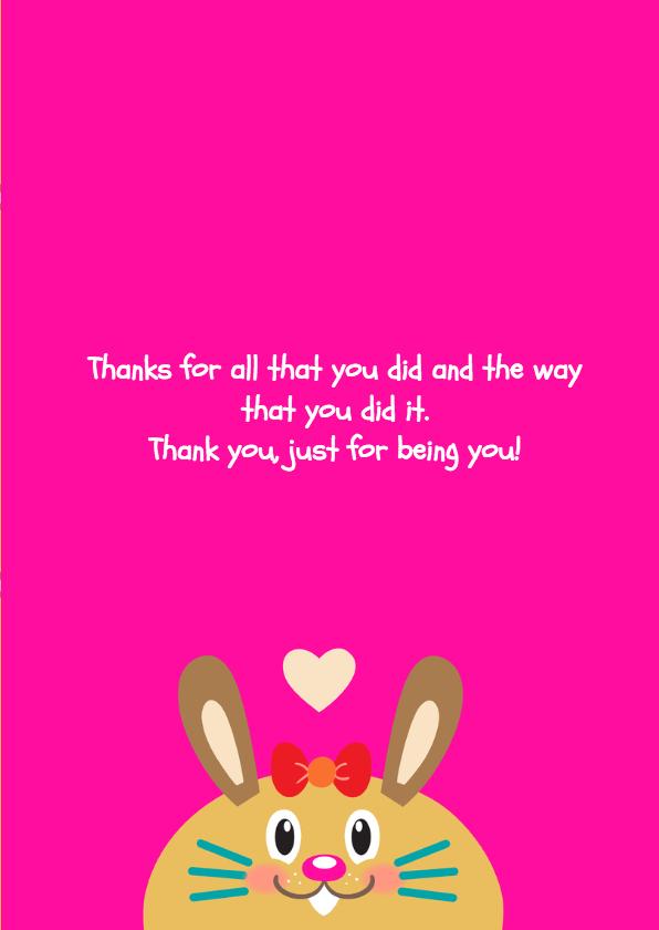 Bedankt Cupcake - TW 3