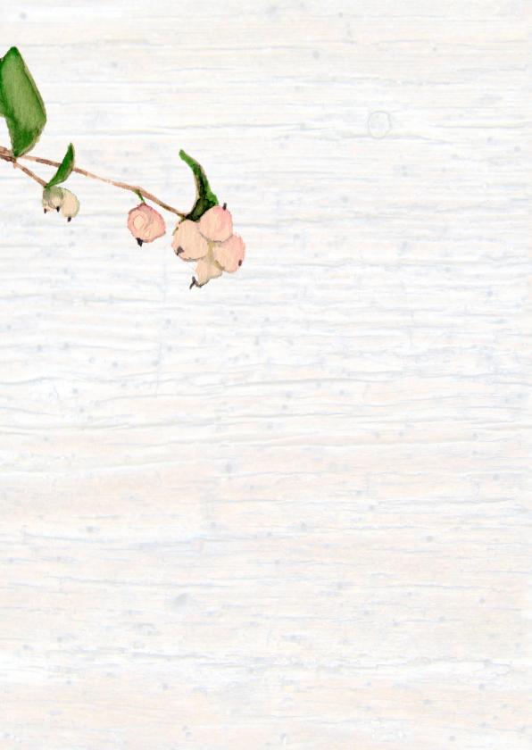 Bedankt - geschilderd plantje 2