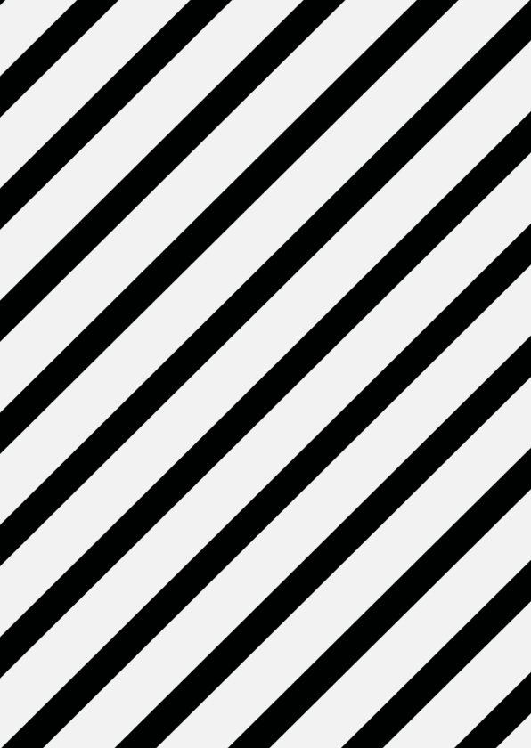 Bedankt - thank you in zwart/wit/goud 2
