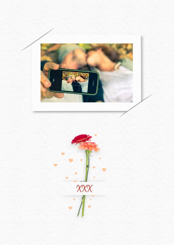 Bedankt trouwen bloemen RB 2