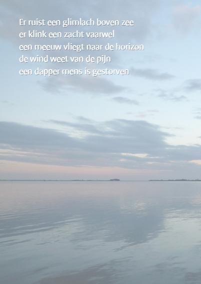 Bedankt water - zee landschap 2