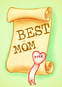 Moederdag kaarten - Best Mom Ever