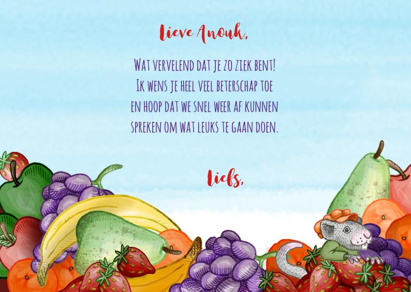 Beterschap fruit dieren grappig 3