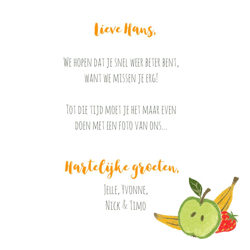 Beterschap fruit eigen foto 3