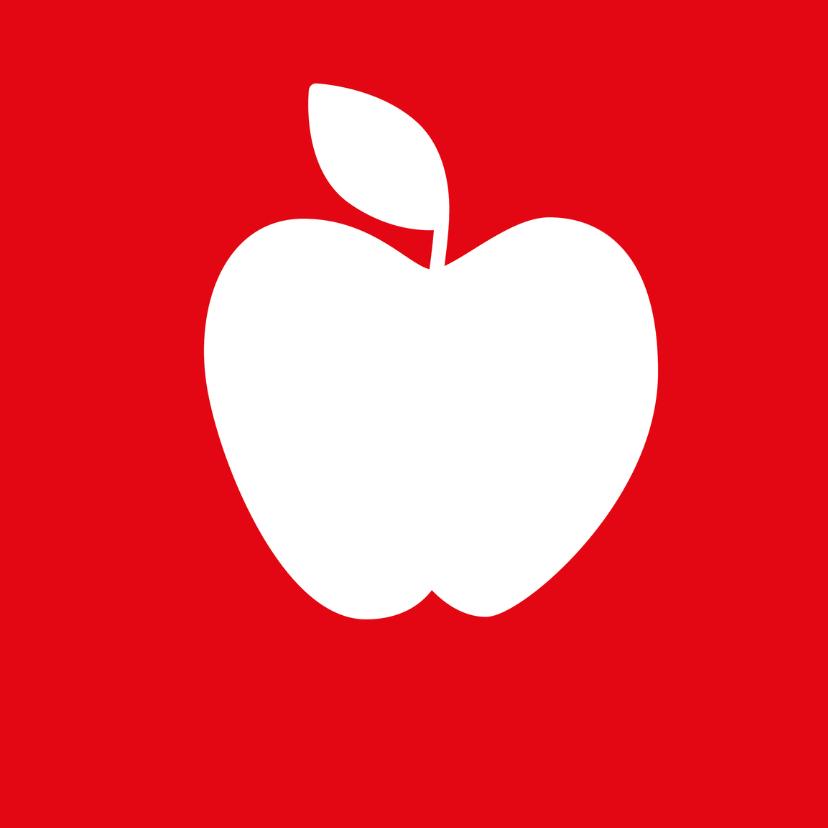 Beterschap met een appel 3