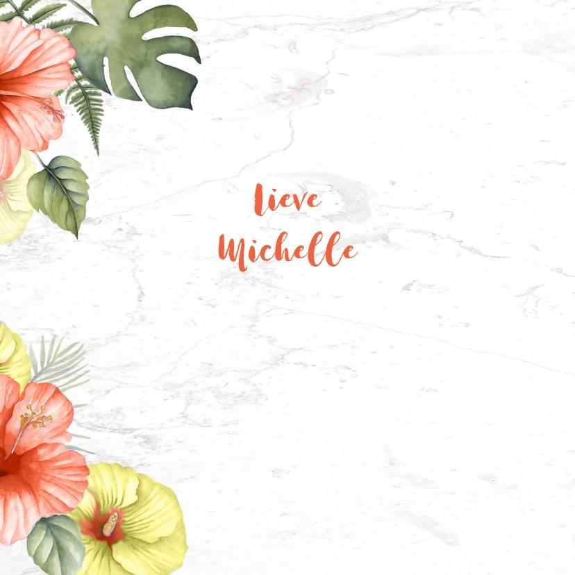 Beterschap tropische bloemen 2
