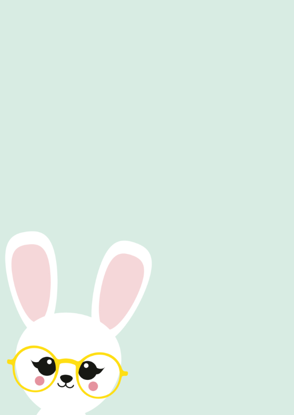 Beterschapskaart konijn 2