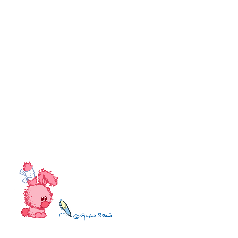 Beterschapskaart konijntje - A 2