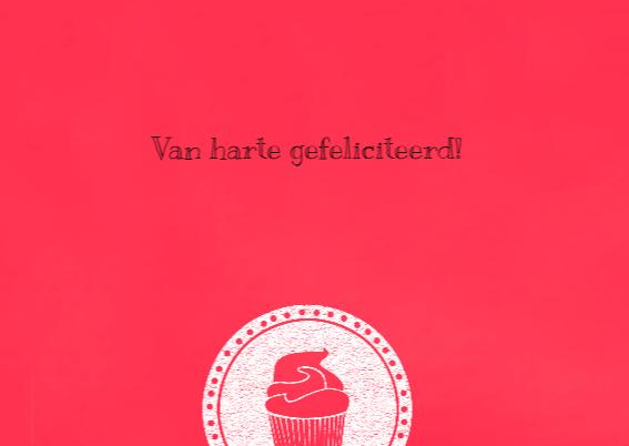 Birthday cupcake krijt 3