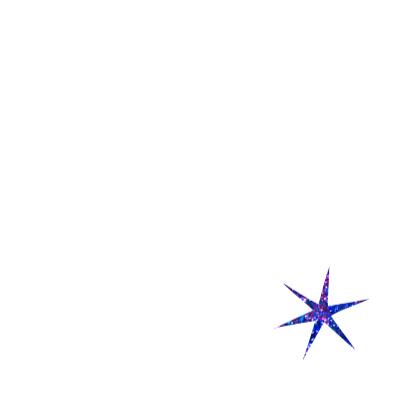 Blauwe kerststerren 3