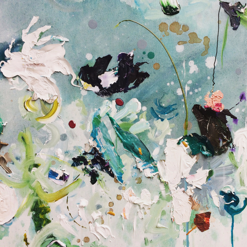 Bloemen schilderij Weidse Weelde 2