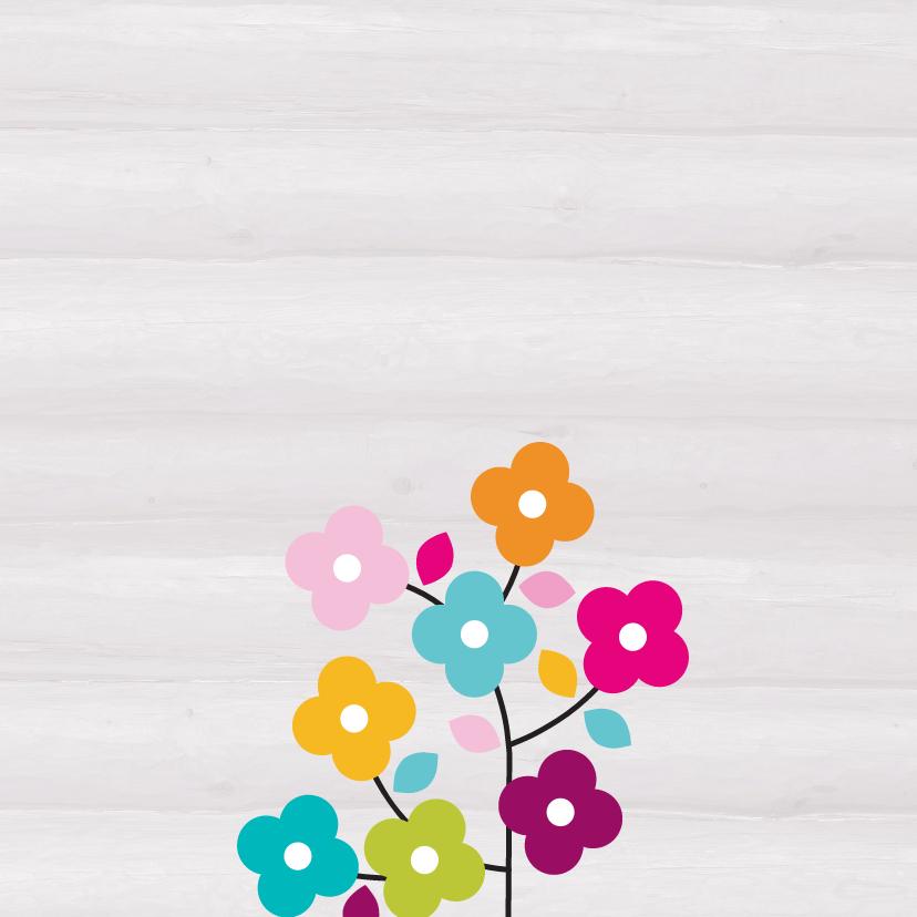 Bloemen sorry kaart -JH 2