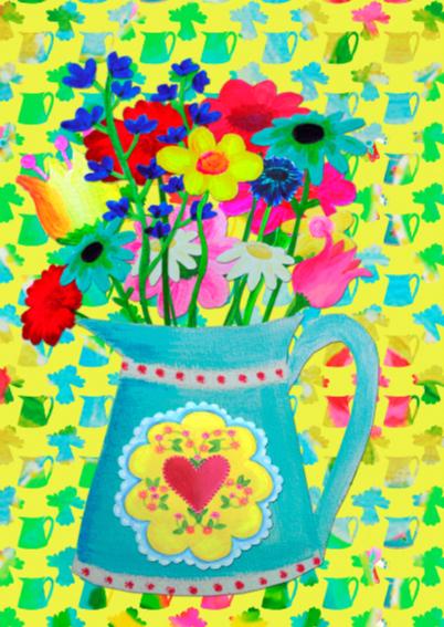 Bloemenkaart Bloem PA 2