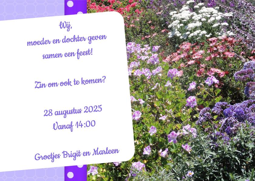 Bloemenkaart gemengd - BK 3