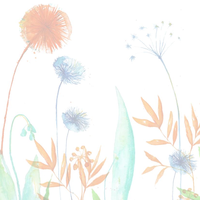 Bloemenkaart voor elk feest 2