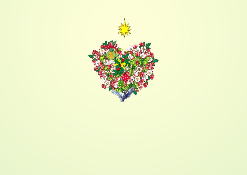 BLOSSOM HEARTS Kerst DINER Uitnodiging 2