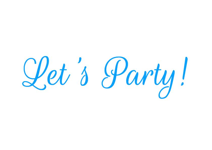 Bord feest zelf aanpassen b 2